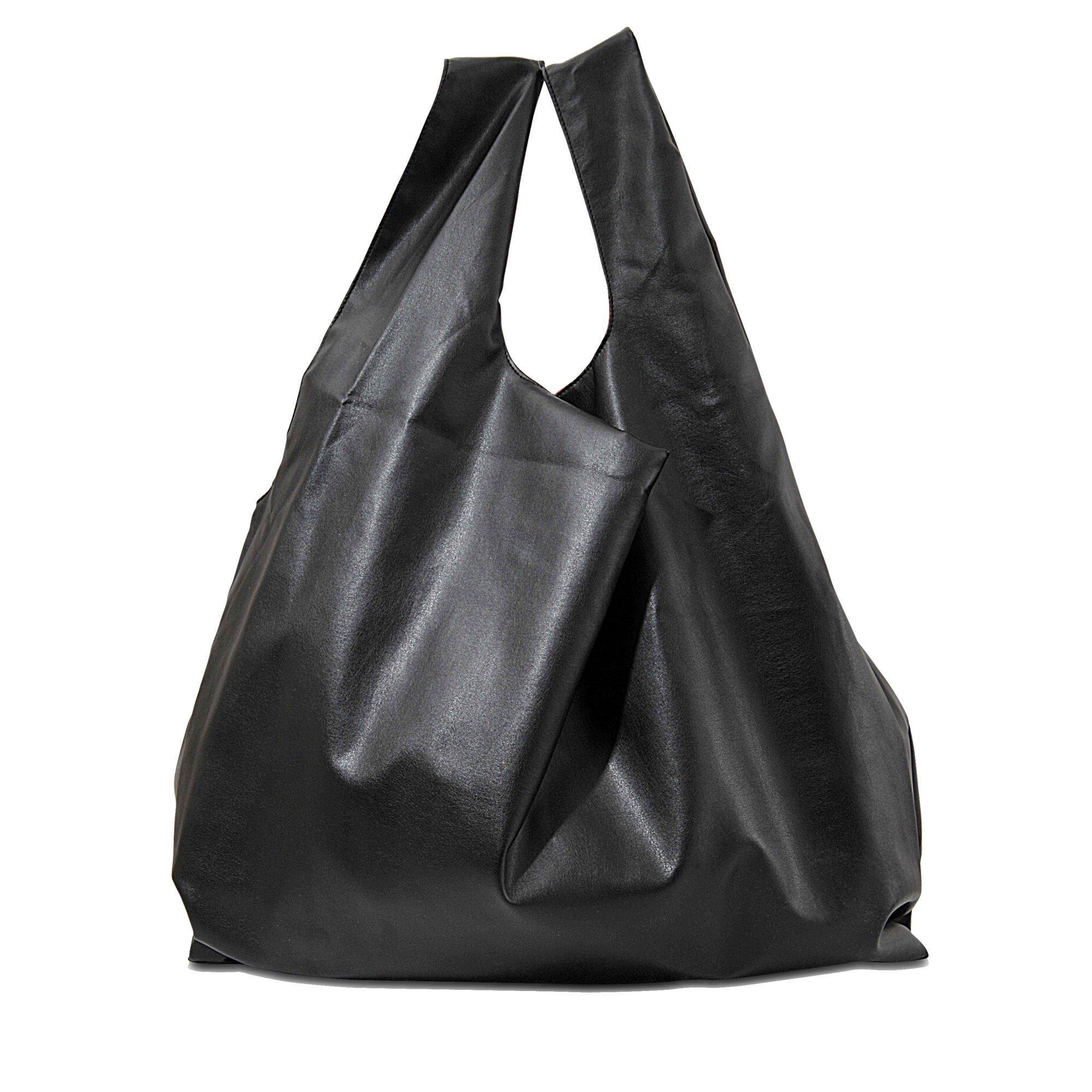 Lyst mm6 by maison martin margiela shopping bag in black for Mm6 maison martin margiela