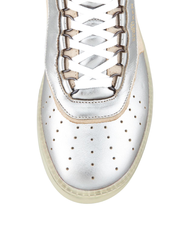 Lyst - Alexander McQueen X Puma Joust Iii Metallic Lotop Sneaker ... 4758b9807