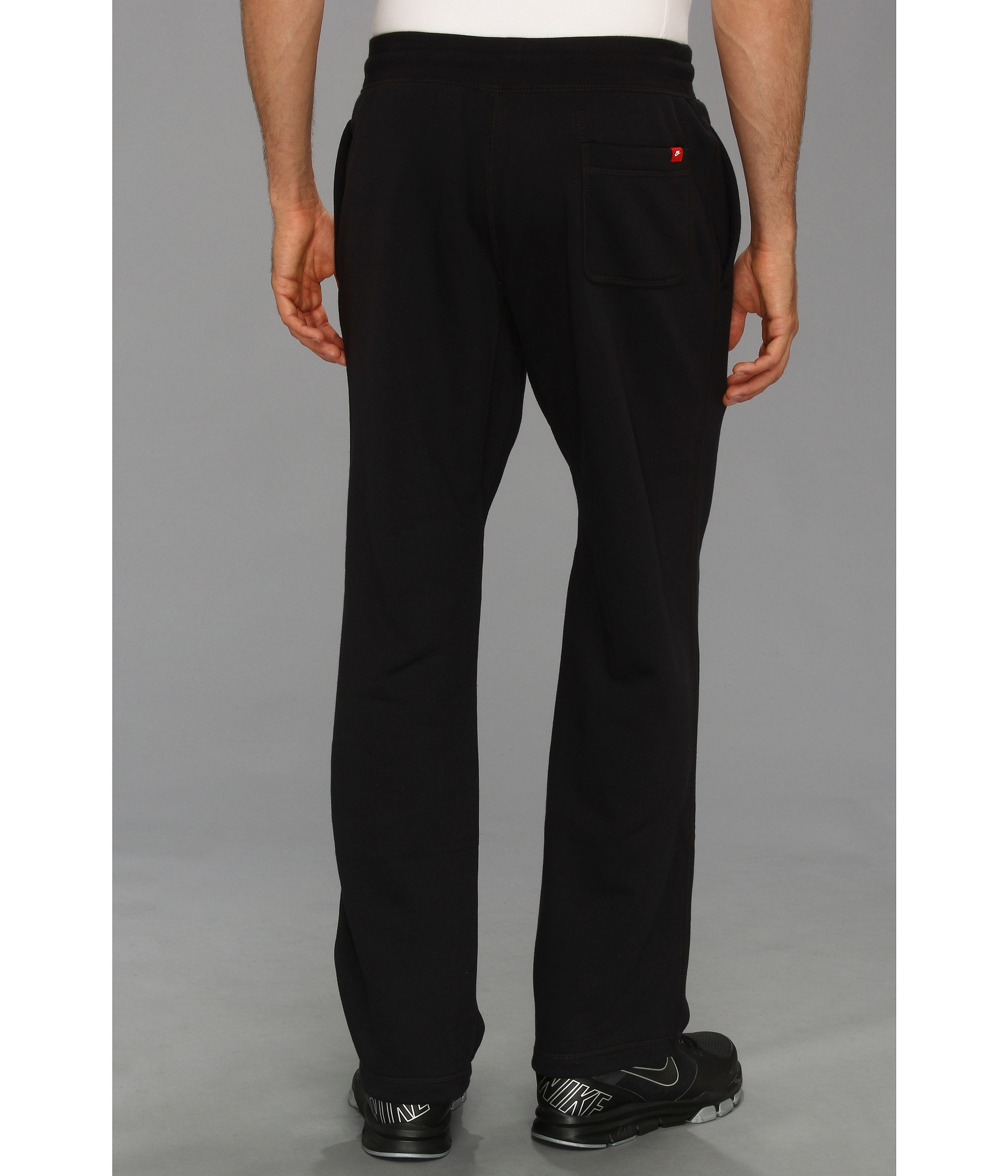 befe1bdb813b5 Nike Ace Open-hem Fleece Pants in Black for Men - Lyst