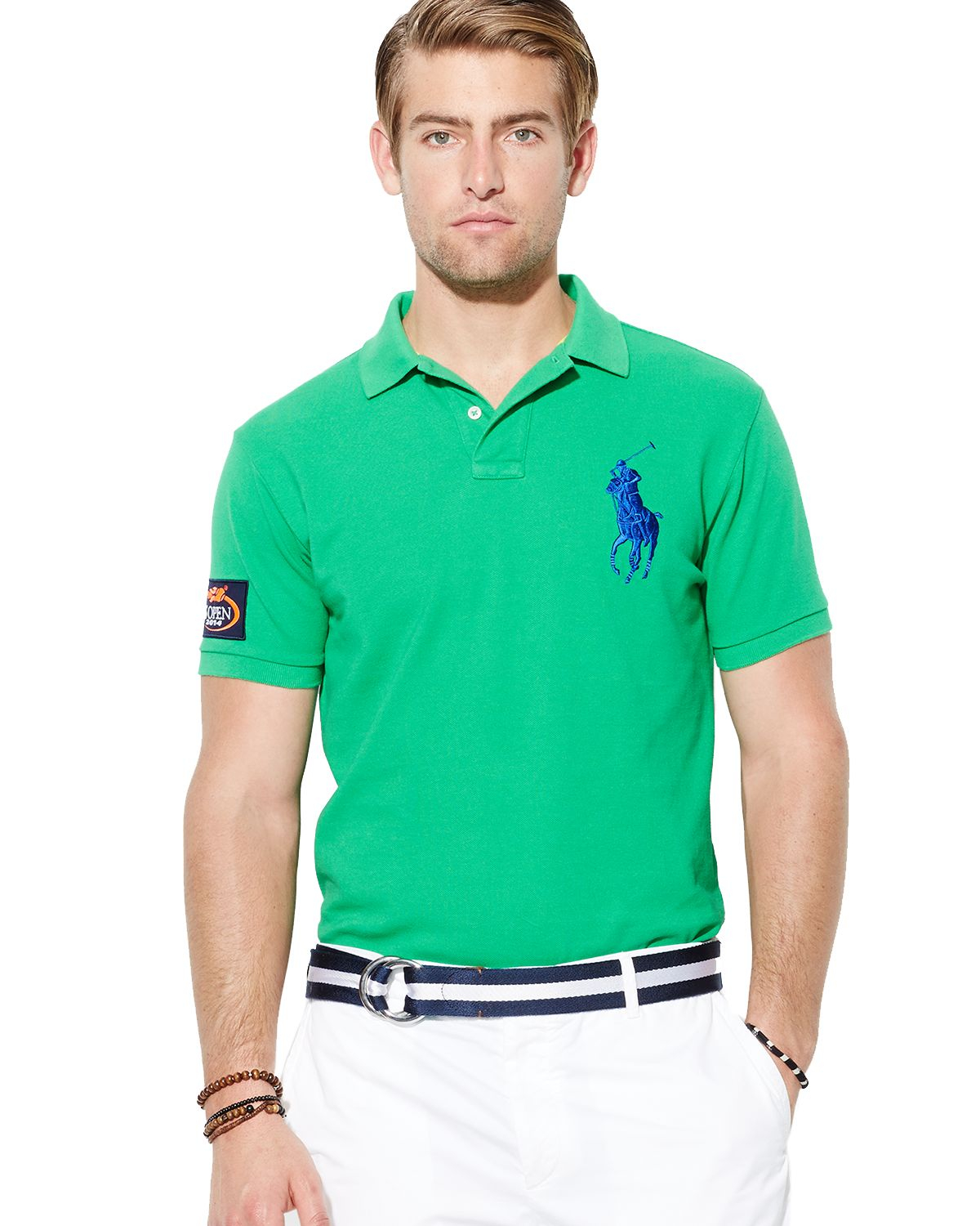 8f89069673fb3c Ralph Lauren Polo Us Open Custom Big Pony Polo Shirt Slim Fit in ...