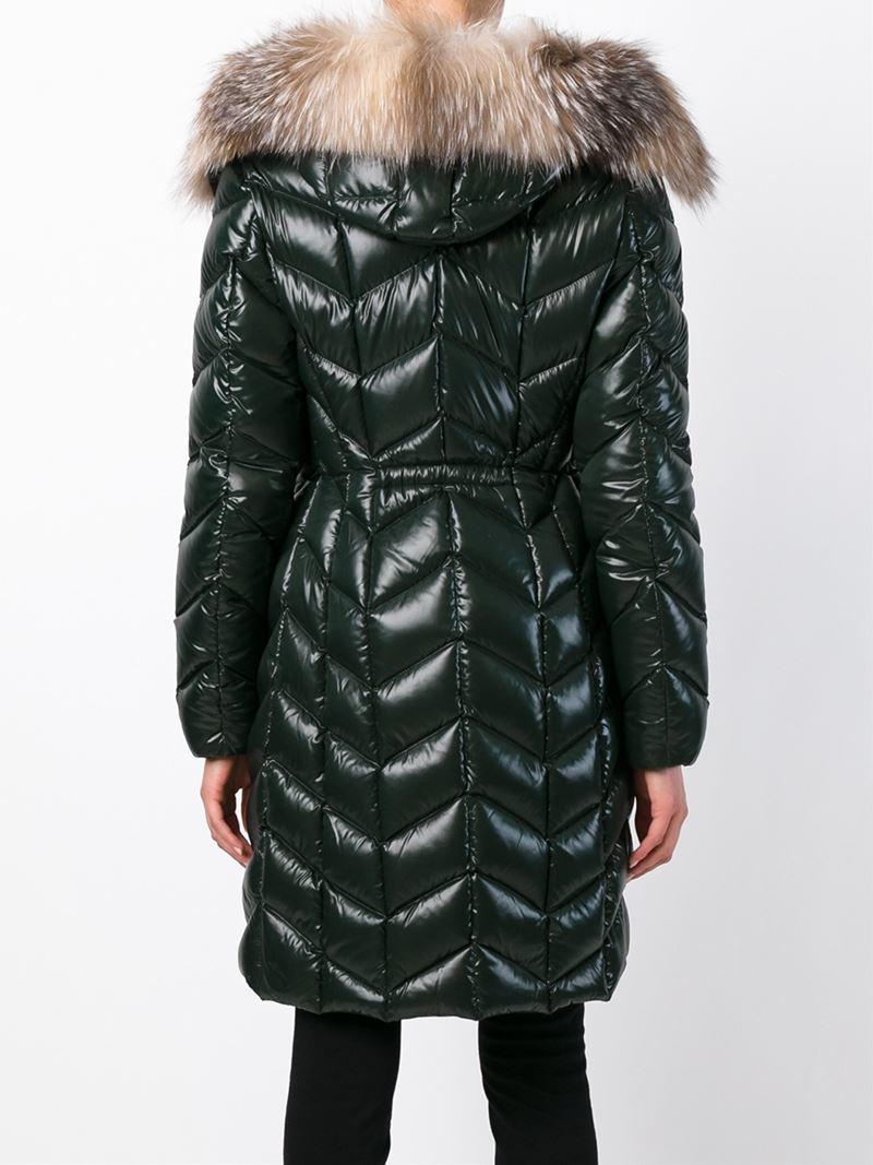 moncler fabrefur padded coat