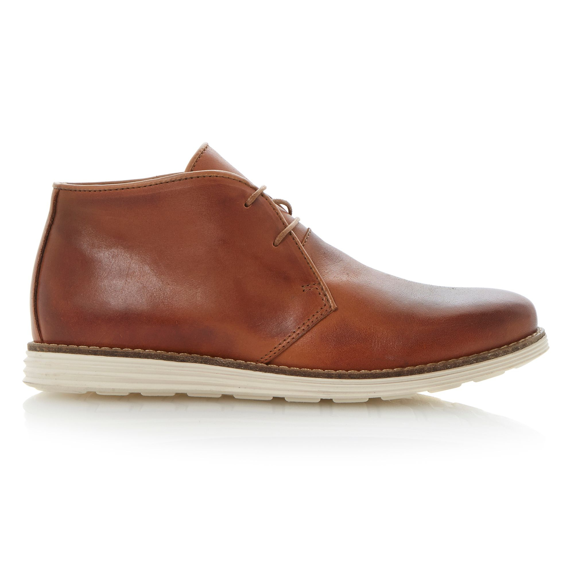Dune Christoff Lace Up Sporty Chukka Boots in Brown for Men | Lyst