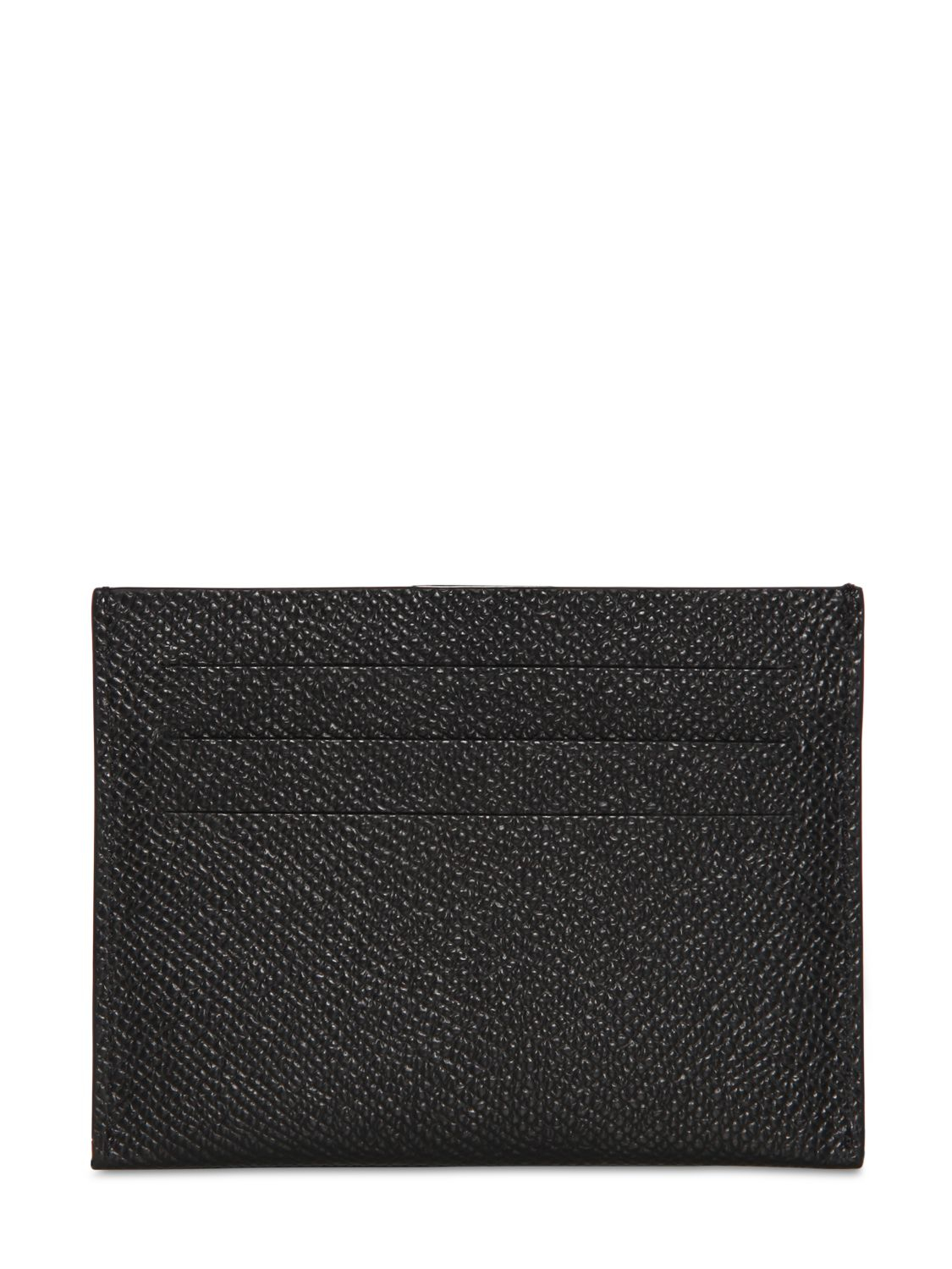 6b1e9a6b93de6 Lyst - Givenchy Textured Leather Card Holder in Black for Men
