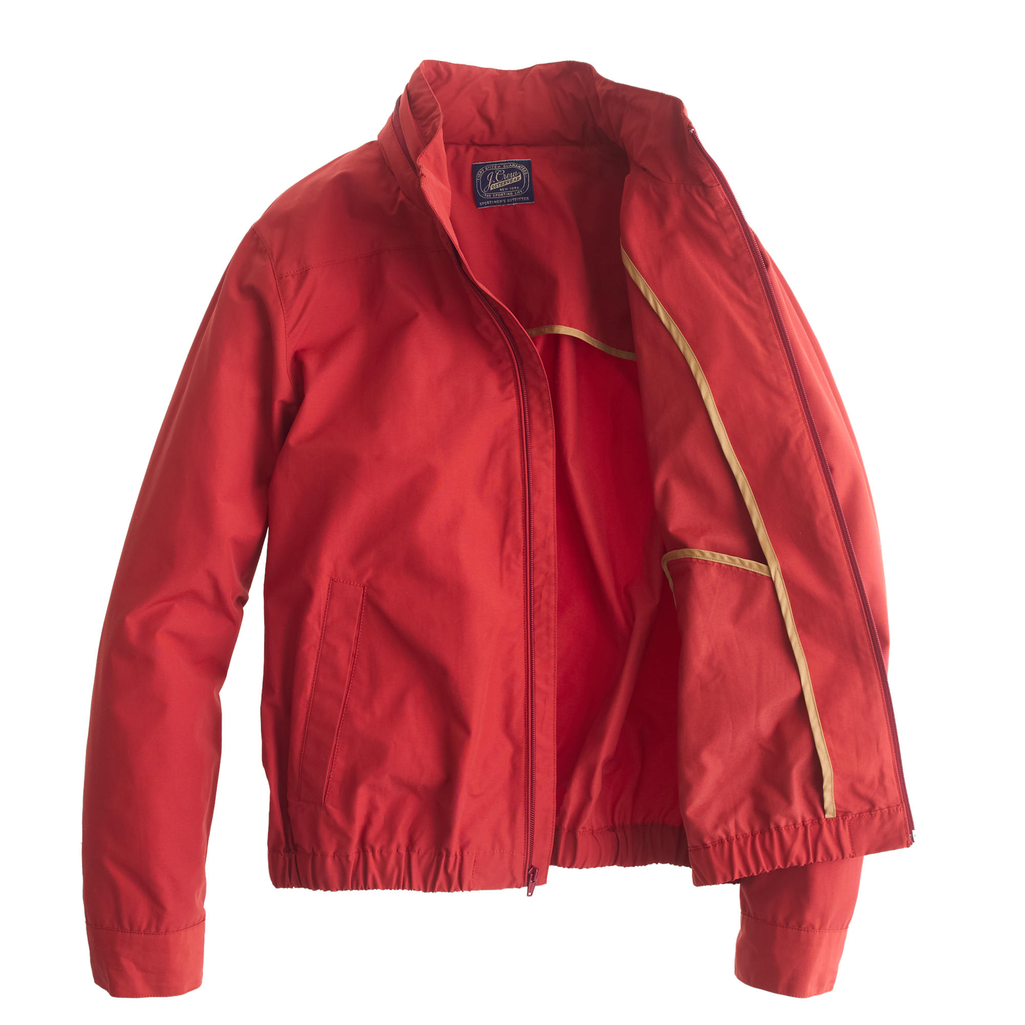 Red Nylon Windbreaker 8