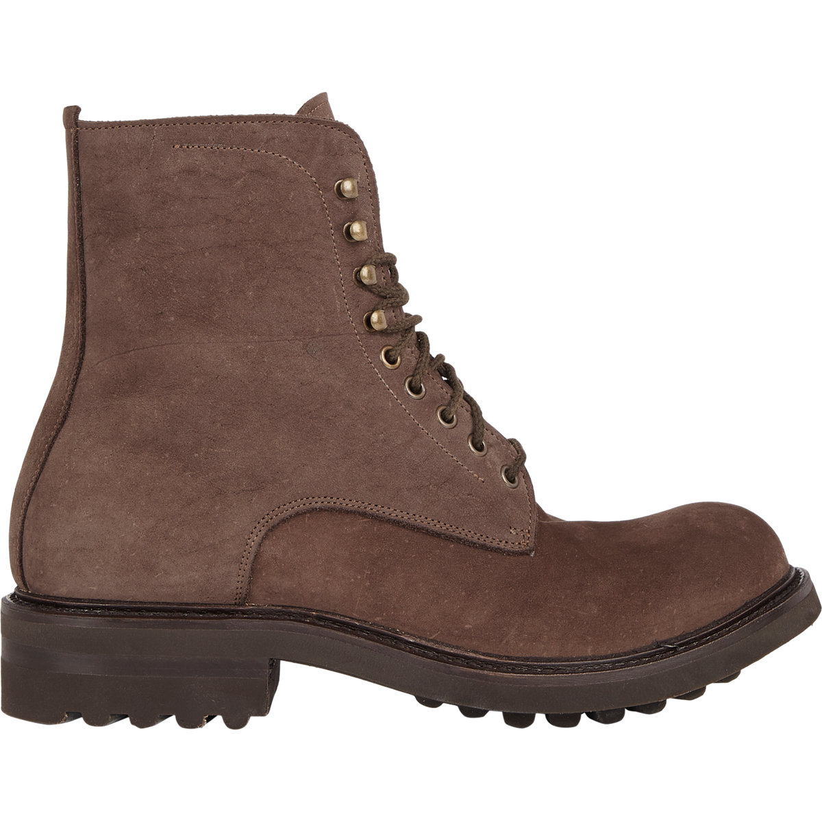 shoto lace up boots in brown for lyst
