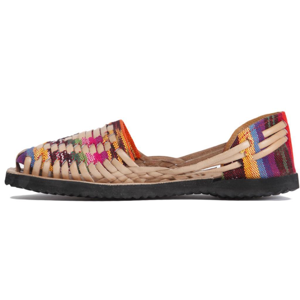 Brilliant Women39s Huarache Sandals  Reddish Brown  Mexican Sandals  100