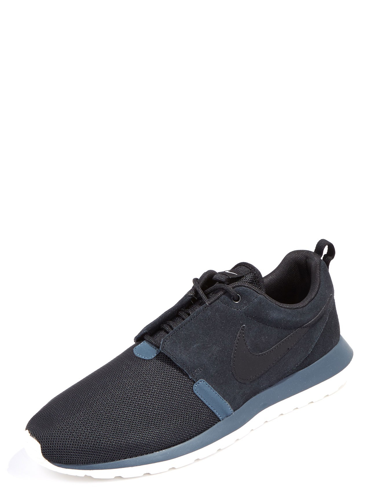 Heren Nike Roshe Run Suede Black Green Shoes Pictures to pin on