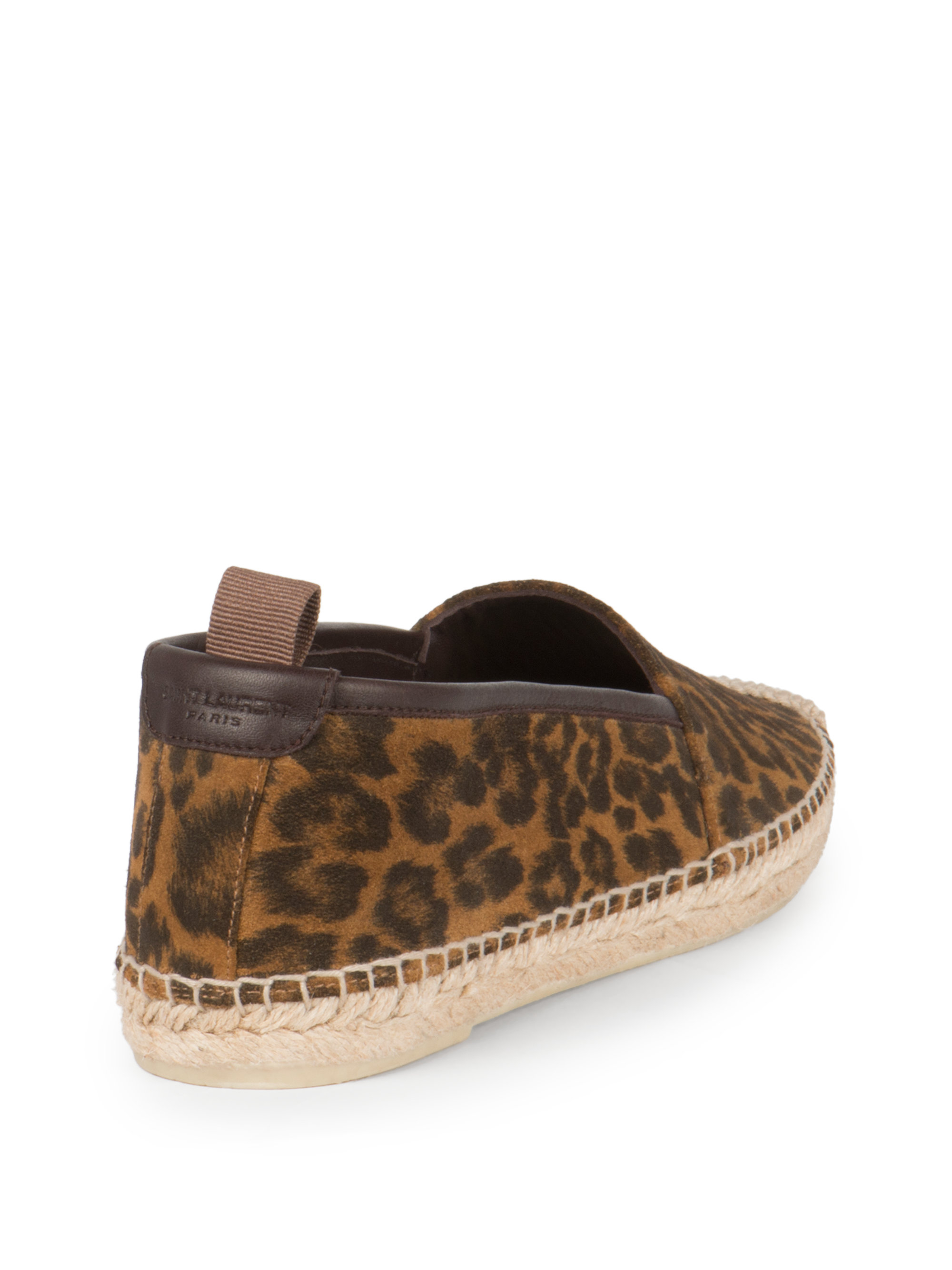 limited edition cheap price sale footlocker pictures Saint Laurent Suede Patterned Espadrilles low price fee shipping cheap price newest for sale eo743gRJL