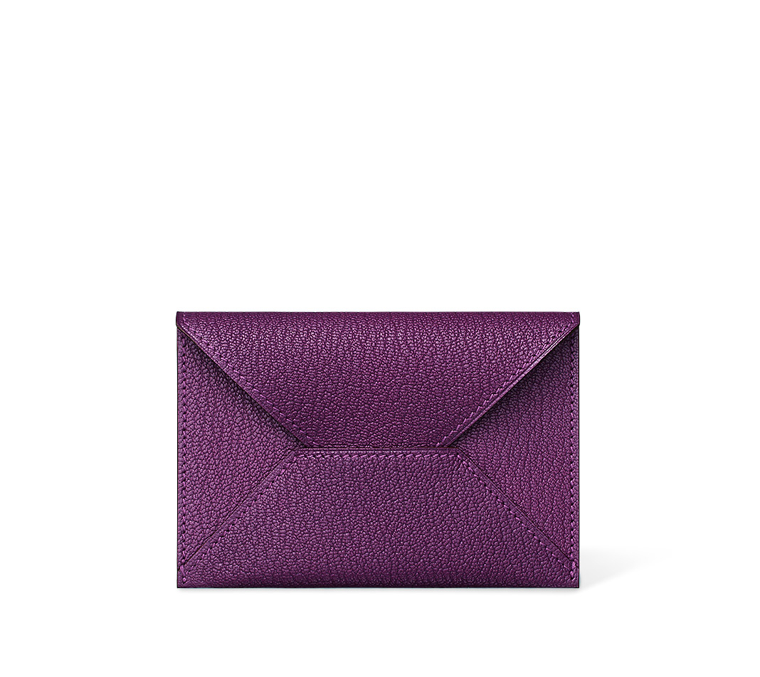herme bags - Herm��s Envelope in Purple | Lyst