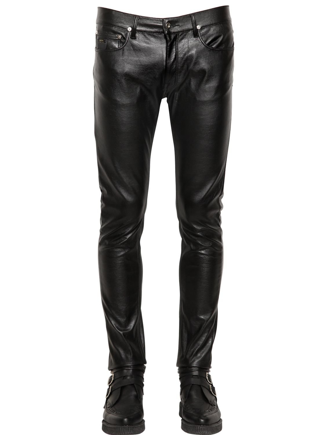 Black, Faux Leather Pants: seebot.ga - Your Online Pants Store! Get 5% in rewards with Club O!