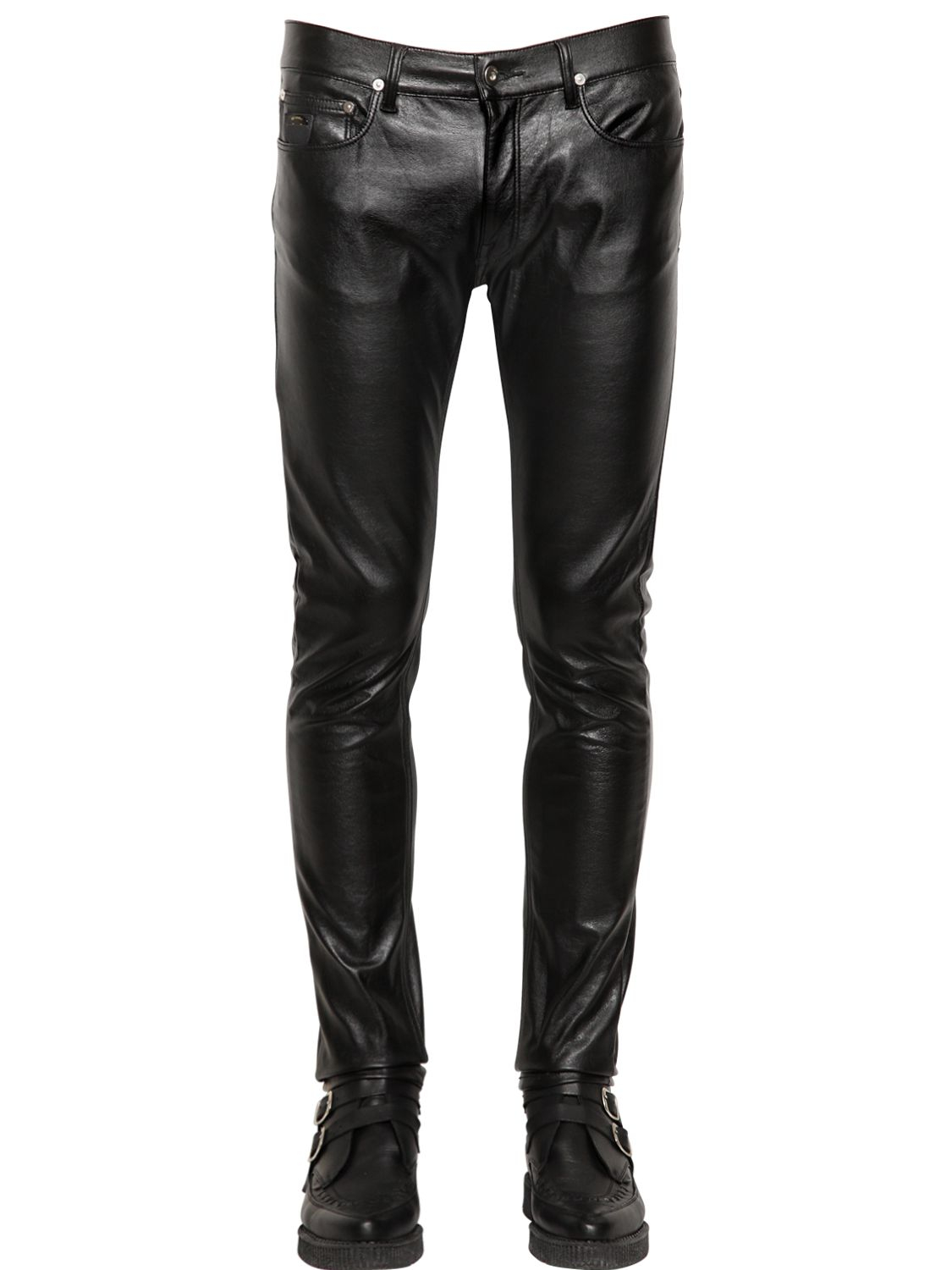 Free shipping BOTH ways on mens faux leather pants, from our vast selection of styles. Fast delivery, and 24/7/ real-person service with a smile. Click or call