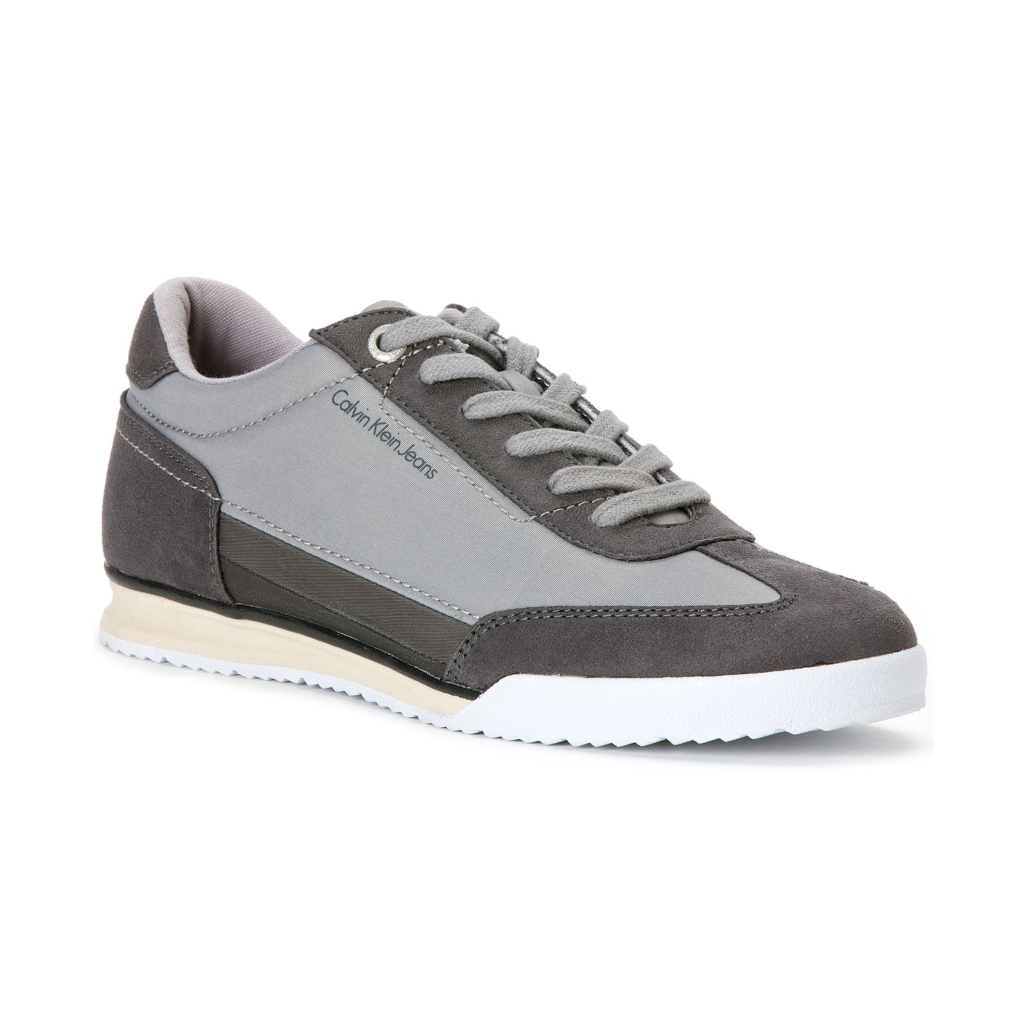 lyst calvin klein ruben sneakers in gray for men. Black Bedroom Furniture Sets. Home Design Ideas