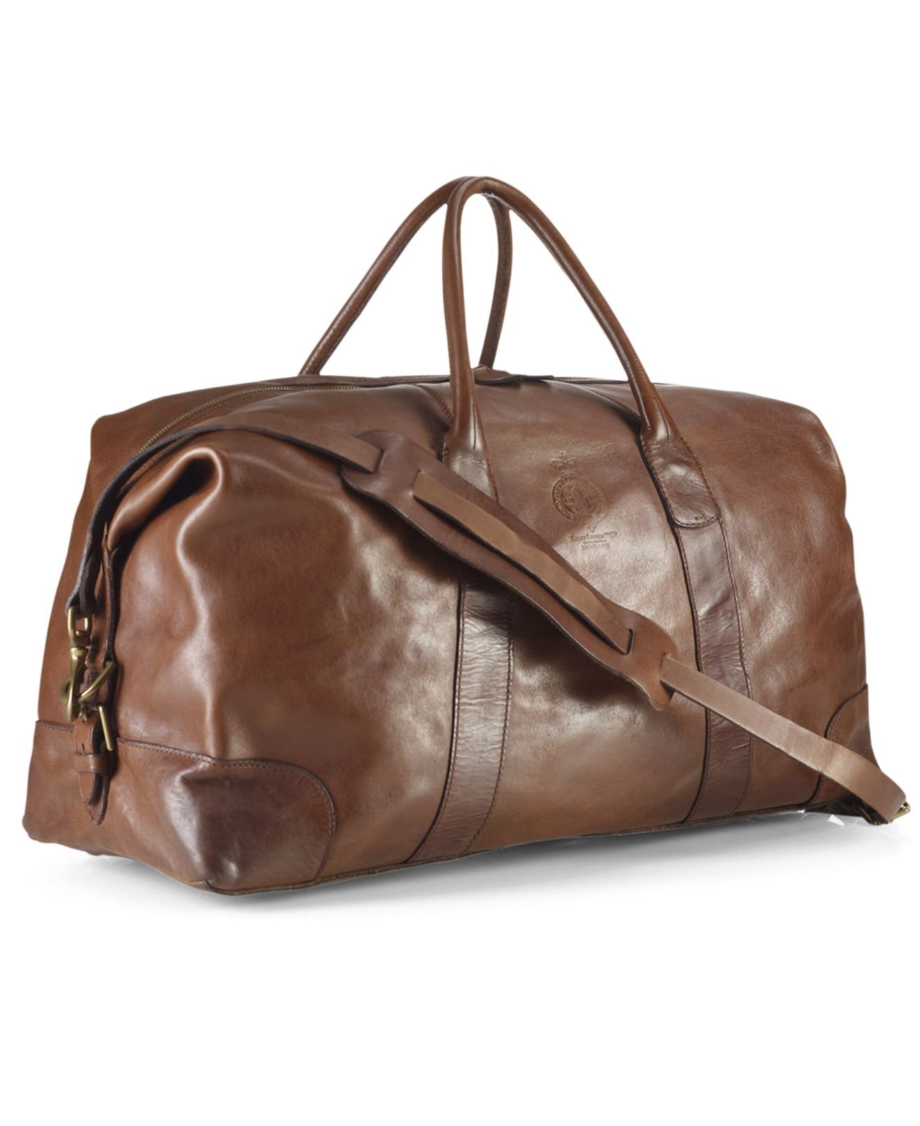 ... clearance lyst polo ralph lauren core leather duffle bag in brown for  men b866e ef95e ... 57193e1751