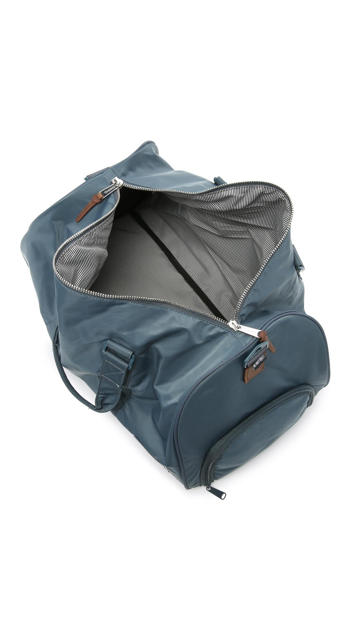 Herschel Supply Co. Novel Nylon Duffel Bag in Blue for Men - Lyst 67bd0aa0a3c08