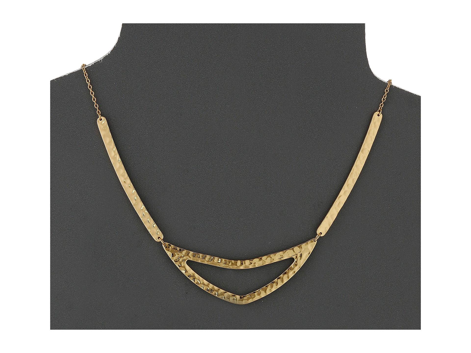 Gorjana Amanda Collar Necklace in Metallic Gold nGbkz