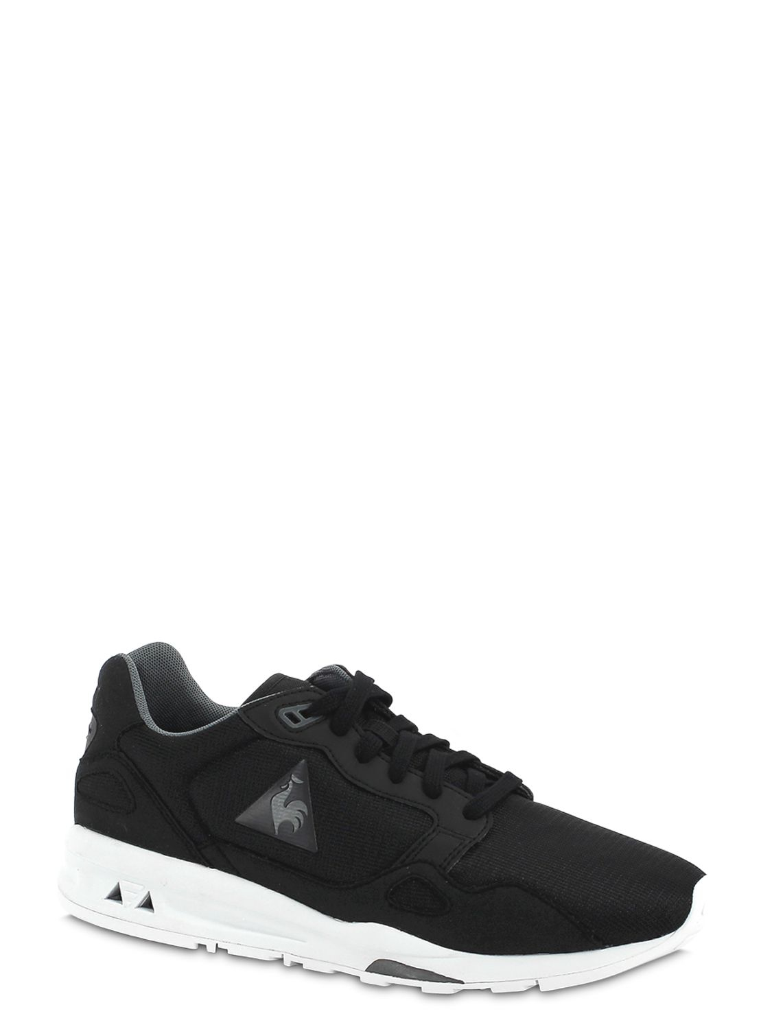 0c8fc364f57f Lyst - Le Coq Sportif Lcs 900 Mesh   Faux Suede Sneakers in Black