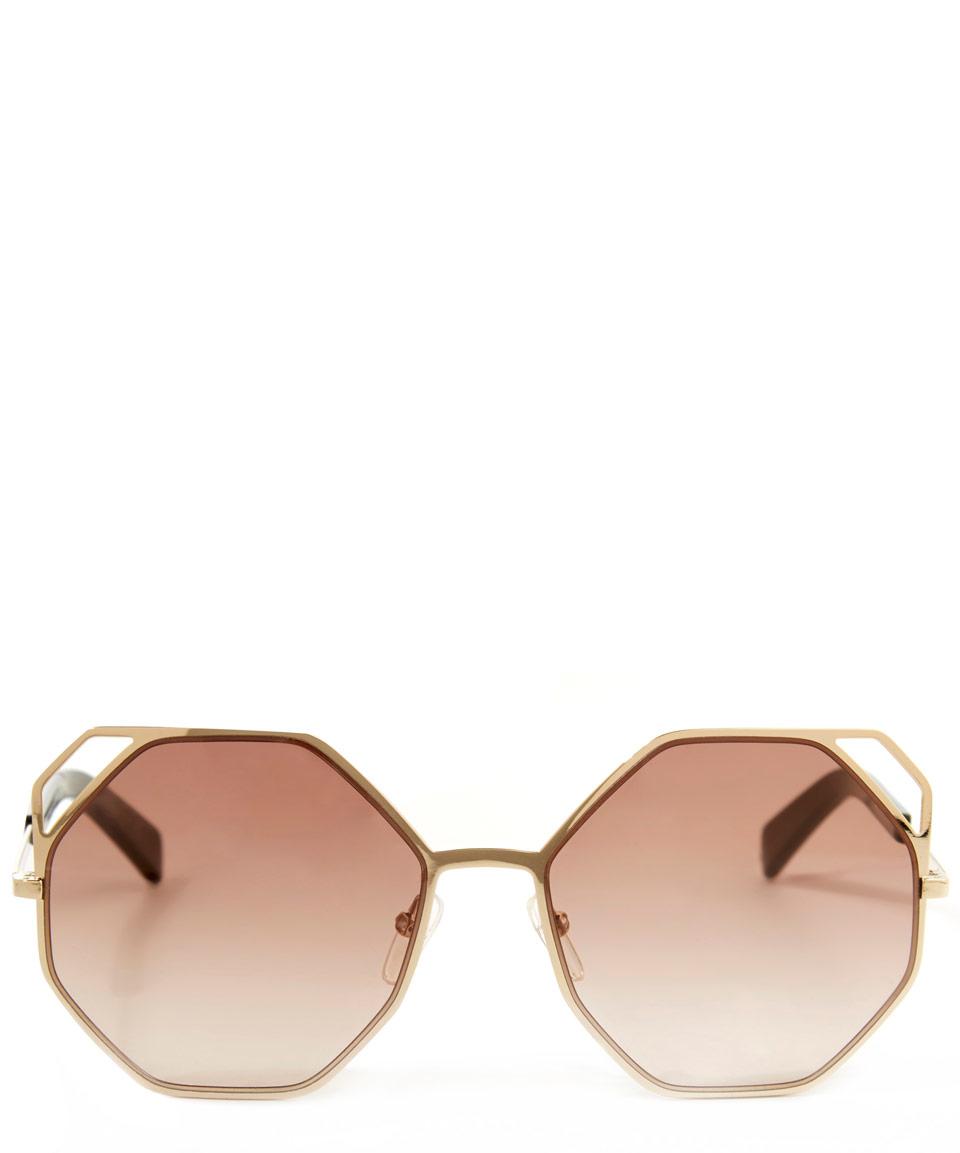 7960c43b8d7 Metal Lyst Gold Marc Sunglasses Jacobs Tone By Octagon Frame wgYzwBq