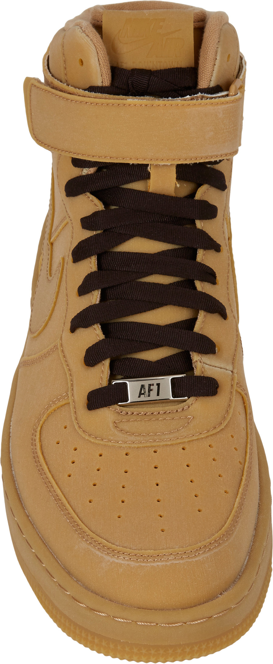 Lyst Nike Air Force 1 Downtown Hi Gum Hightop Sneakers