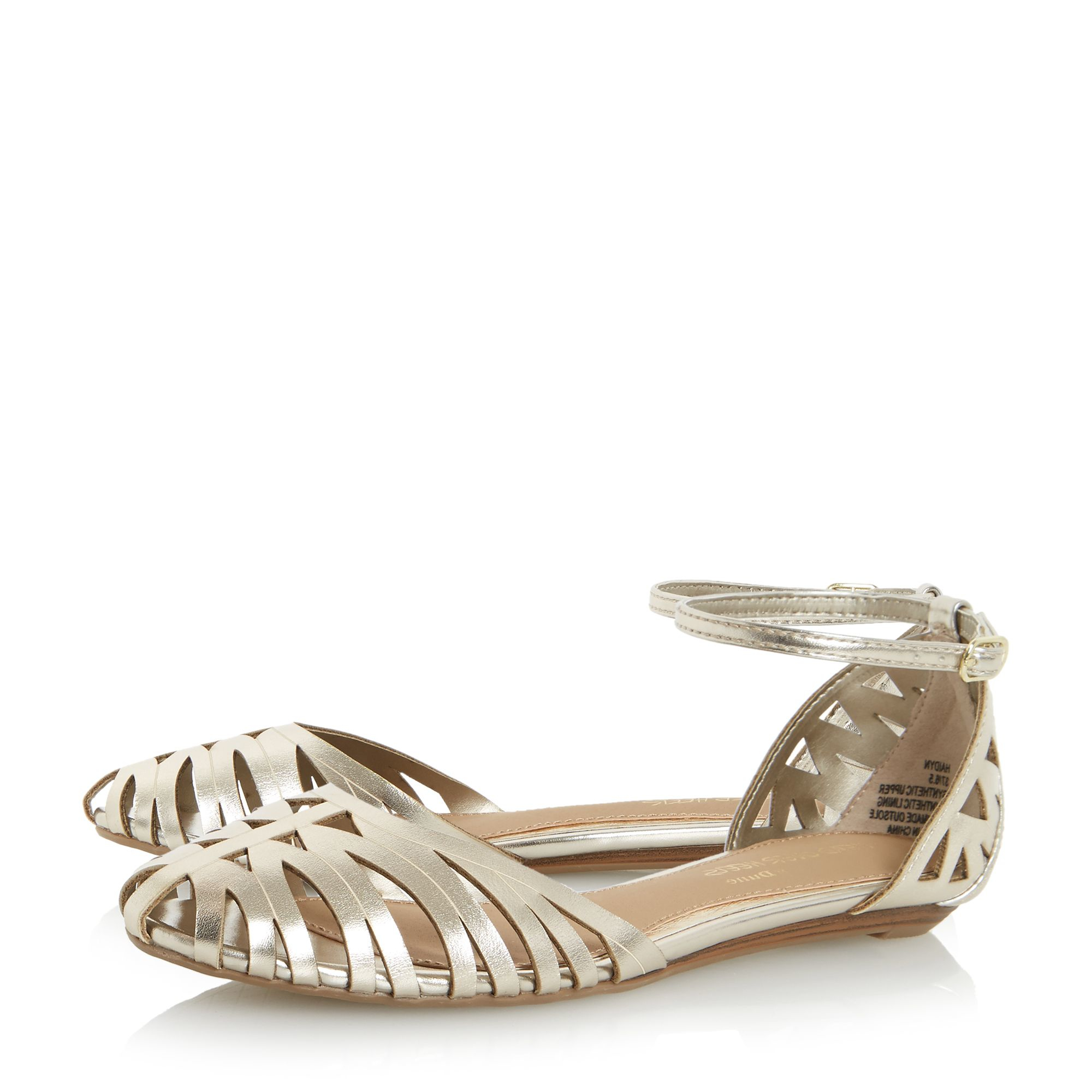 Kurt Geiger Shoes With Gold Round Heels