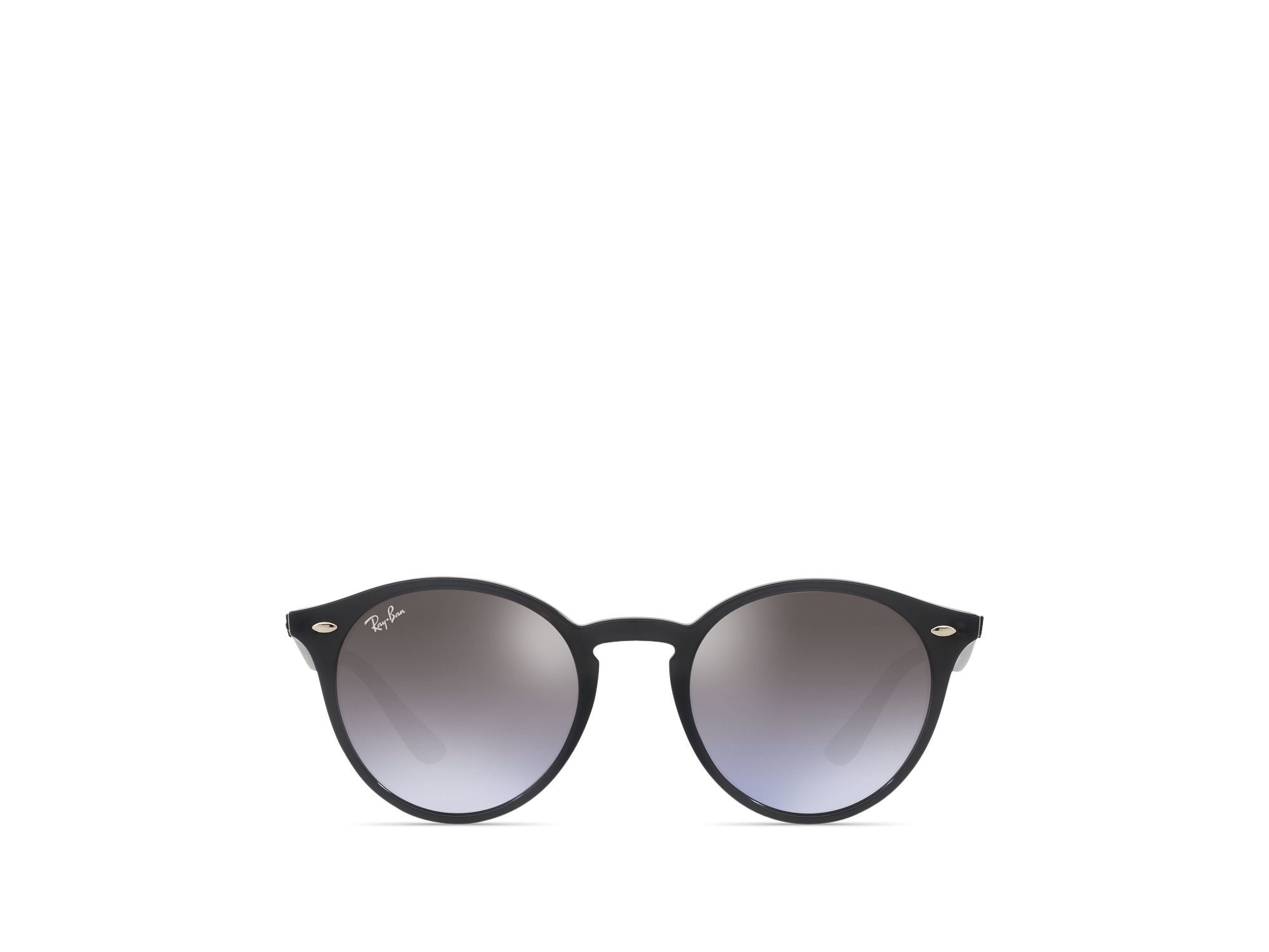 Sunglasses High Street  ray ban high street round sunglasses 49mm in black lyst