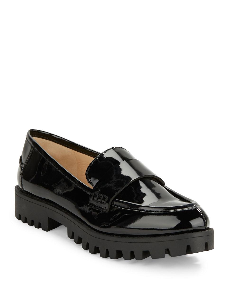 Nine west Juniper Point Toe Loafers in Black