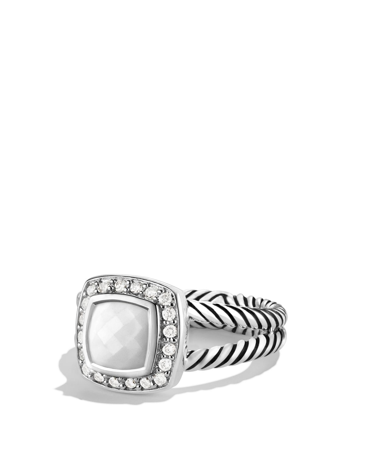 diamond diamondcross ring david product yurman crossover rings