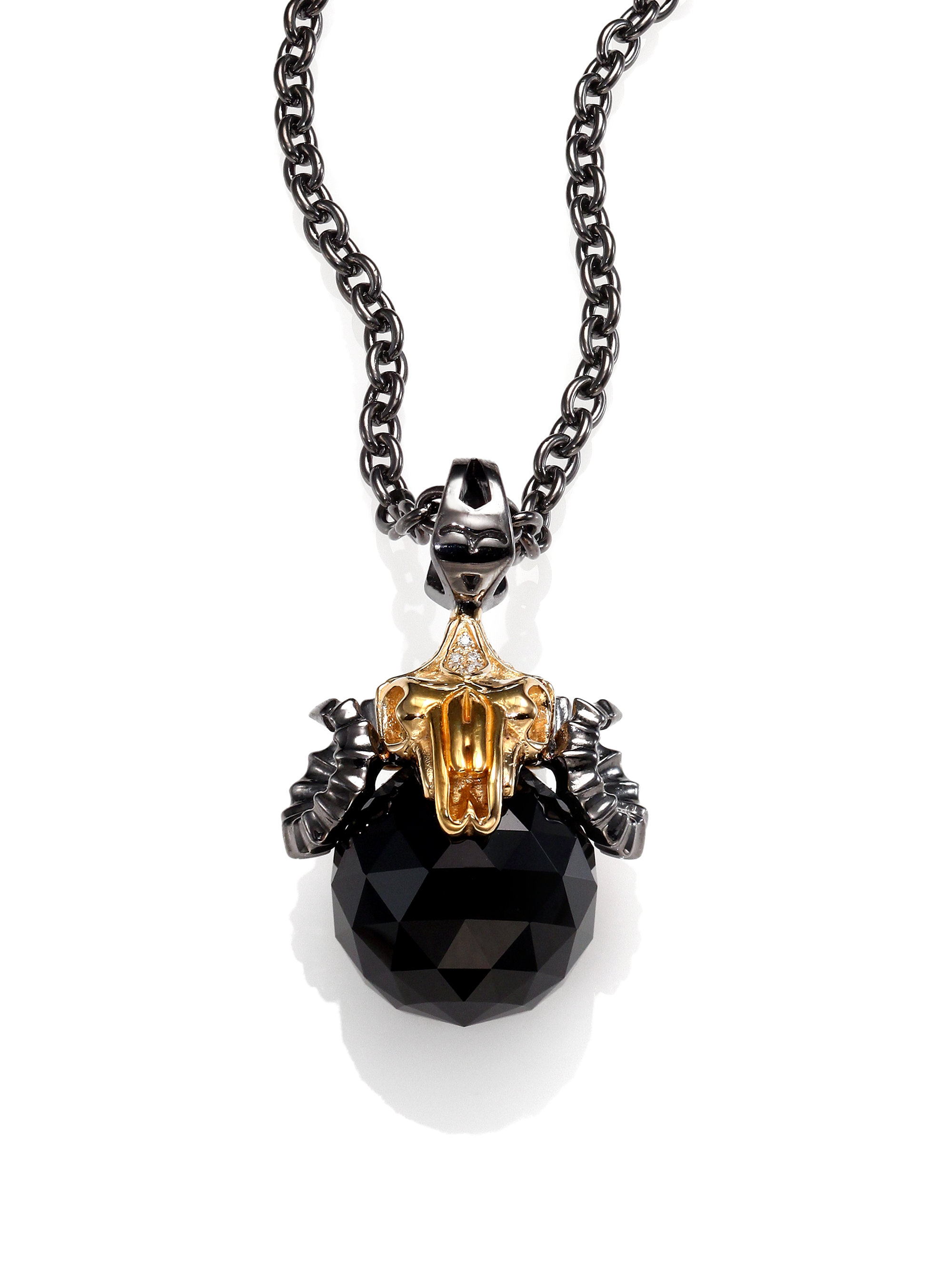 Lyst Stephen Webster Aries Astro Ball Crystal Blackened