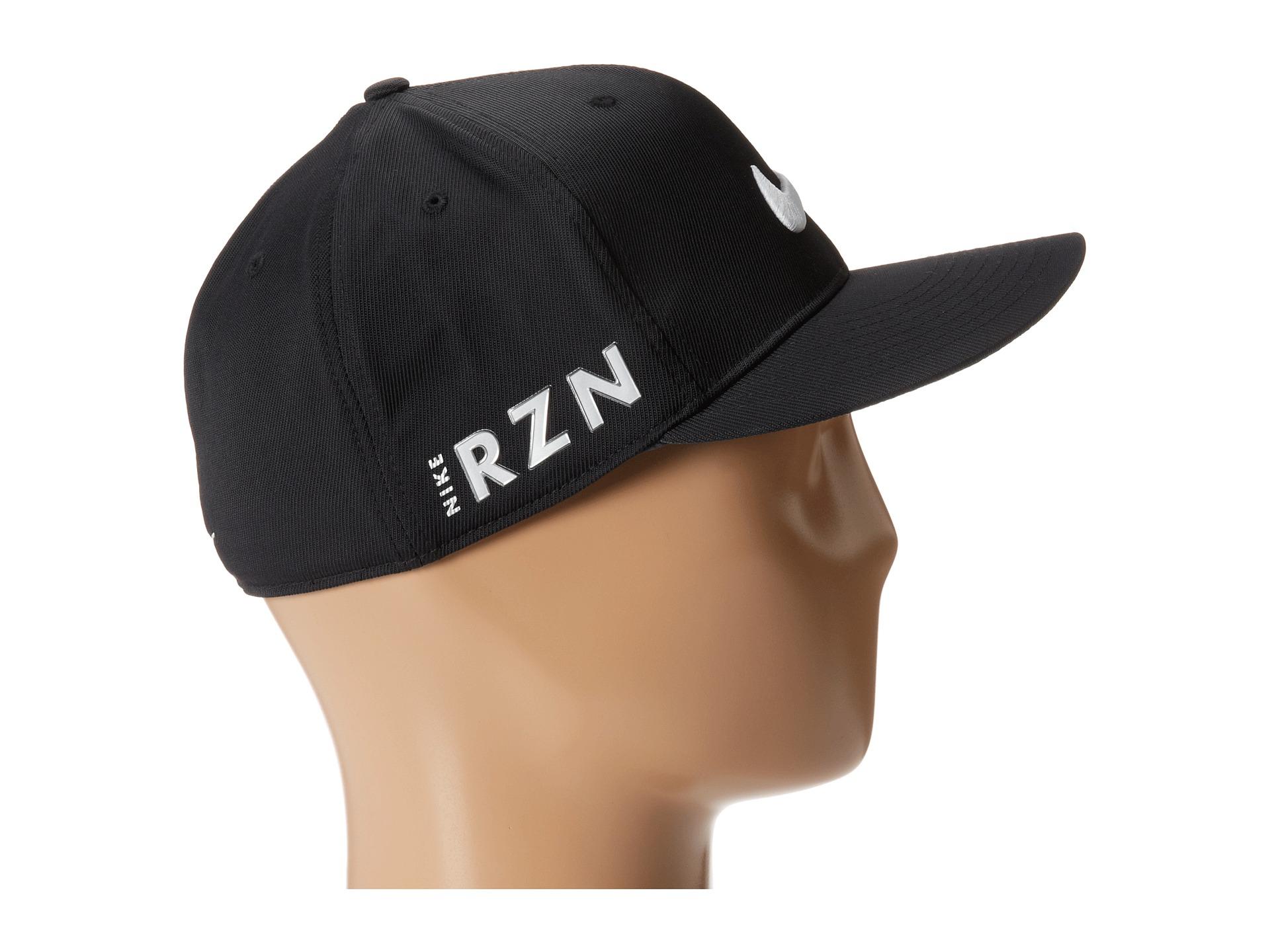 43bddc1ba8e79 ... order lyst nike flat bill tour cap in black for men 42a37 c8e3f