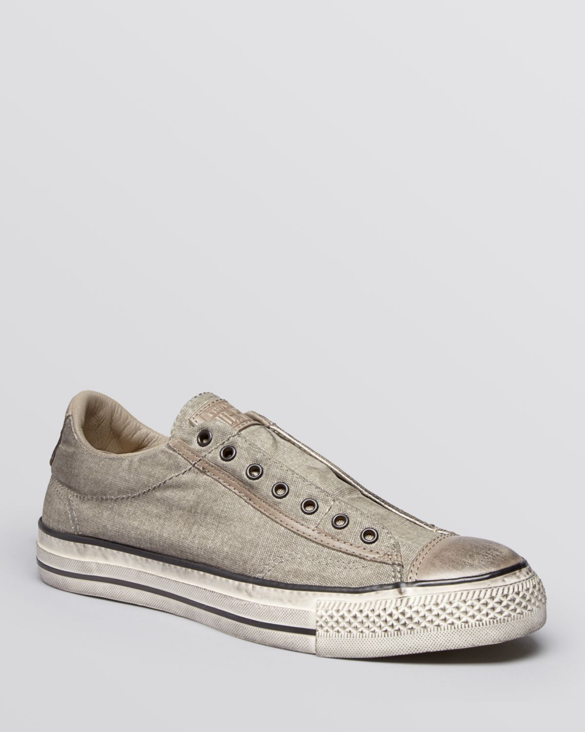 6449e4b13a16 Lyst - Converse Chuck Taylor All Star Laceless Sneakers in Gray for Men