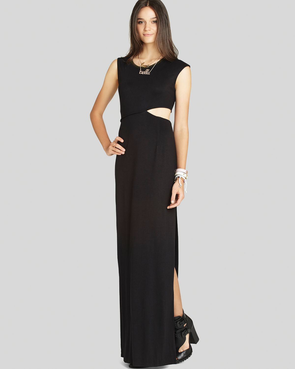 Bcbgeneration maxi dress - back cutout