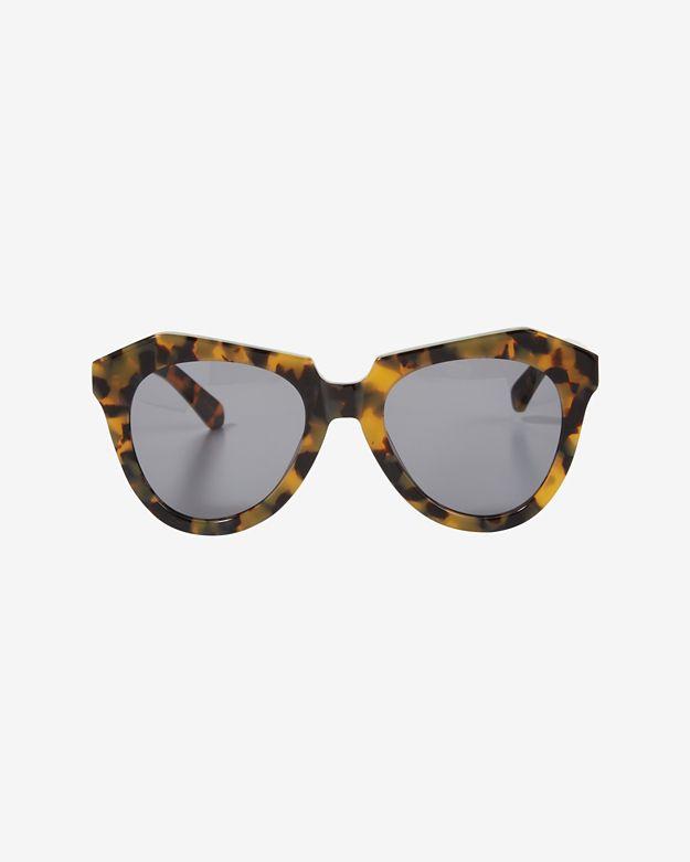 524317544784 Lyst - Karen Walker Number One Tortoise Sunglasses in Brown