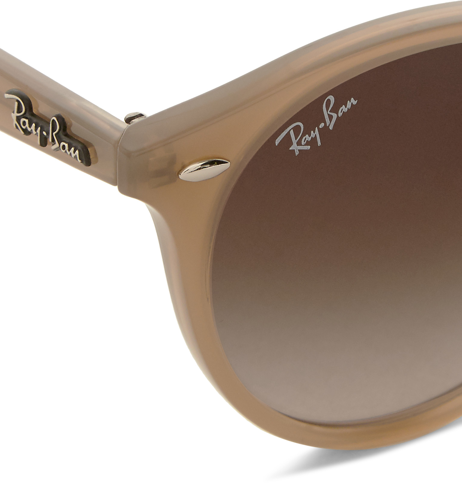 cc5889604d1 Gallery. Previously sold at  MR PORTER · Men s Ray Ban Outdoorsman Men s  Rose Gold Sunglasses ...