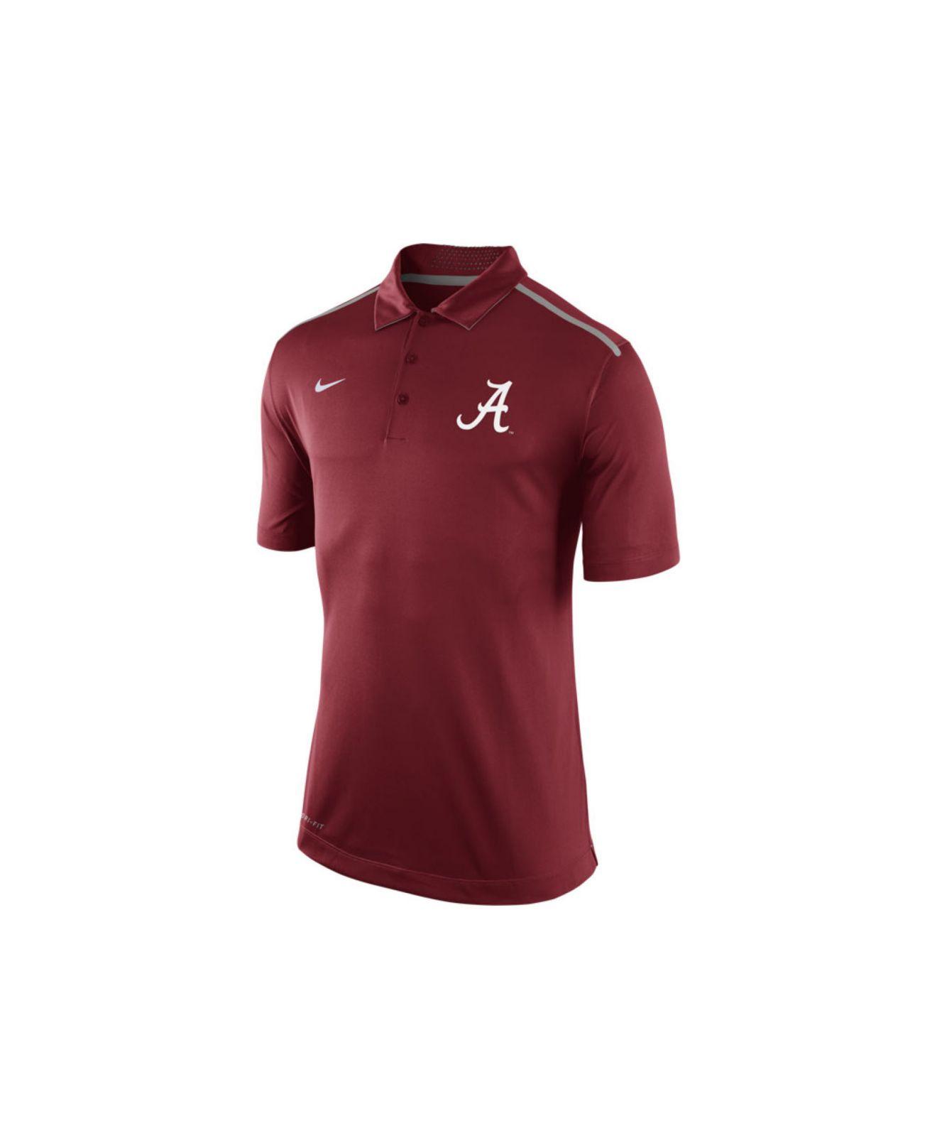 nike men 39 s alabama crimson tide elite coaches polo shirt