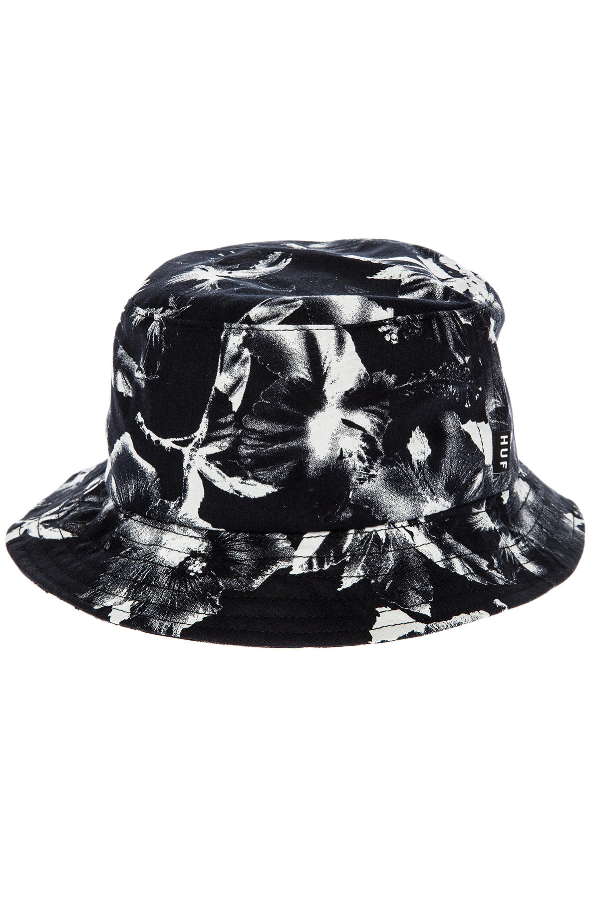 c1c05a39e73 Lyst - Huf The Floral Bucket Hat in Black for Men