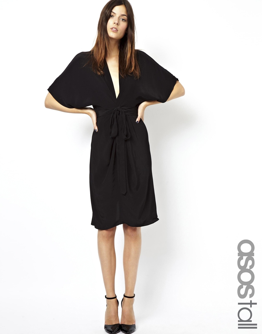 c62184fa3d Asos Floral Obi Wrap Dress - Gomes Weine AG