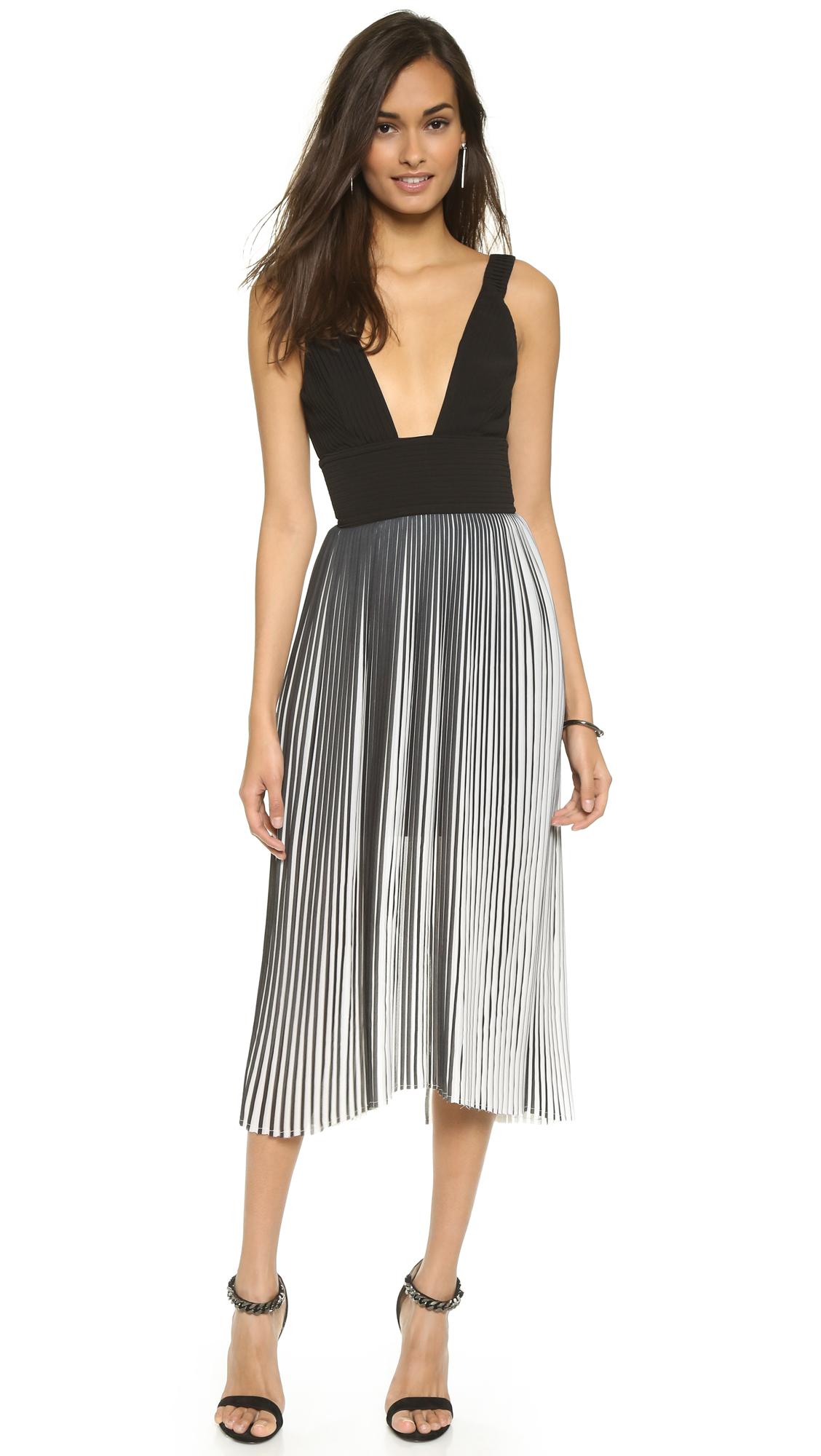 Nicholas Sleeveless Pleat Dress Sale Low Shipping Fee Buy Cheap Supply Order 9q1UKSWqdf