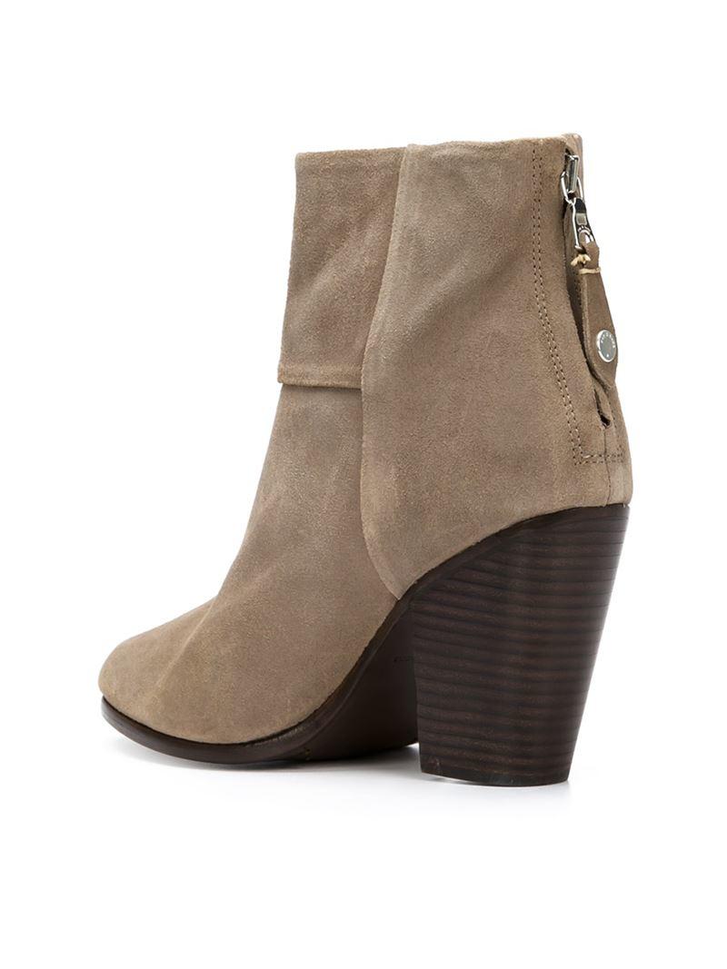 Rag Amp Bone Newbury Boots In Brown Lyst
