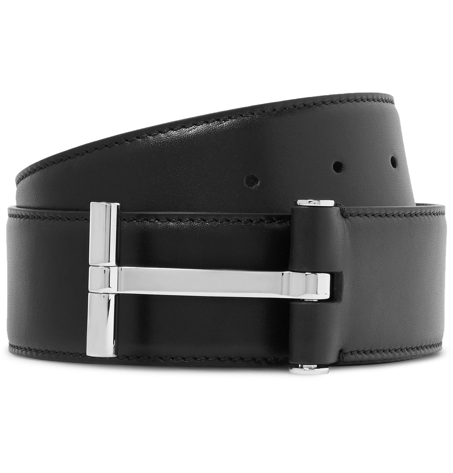 belts vestiaire plain black women belt accessories ford crocodile tom collective s