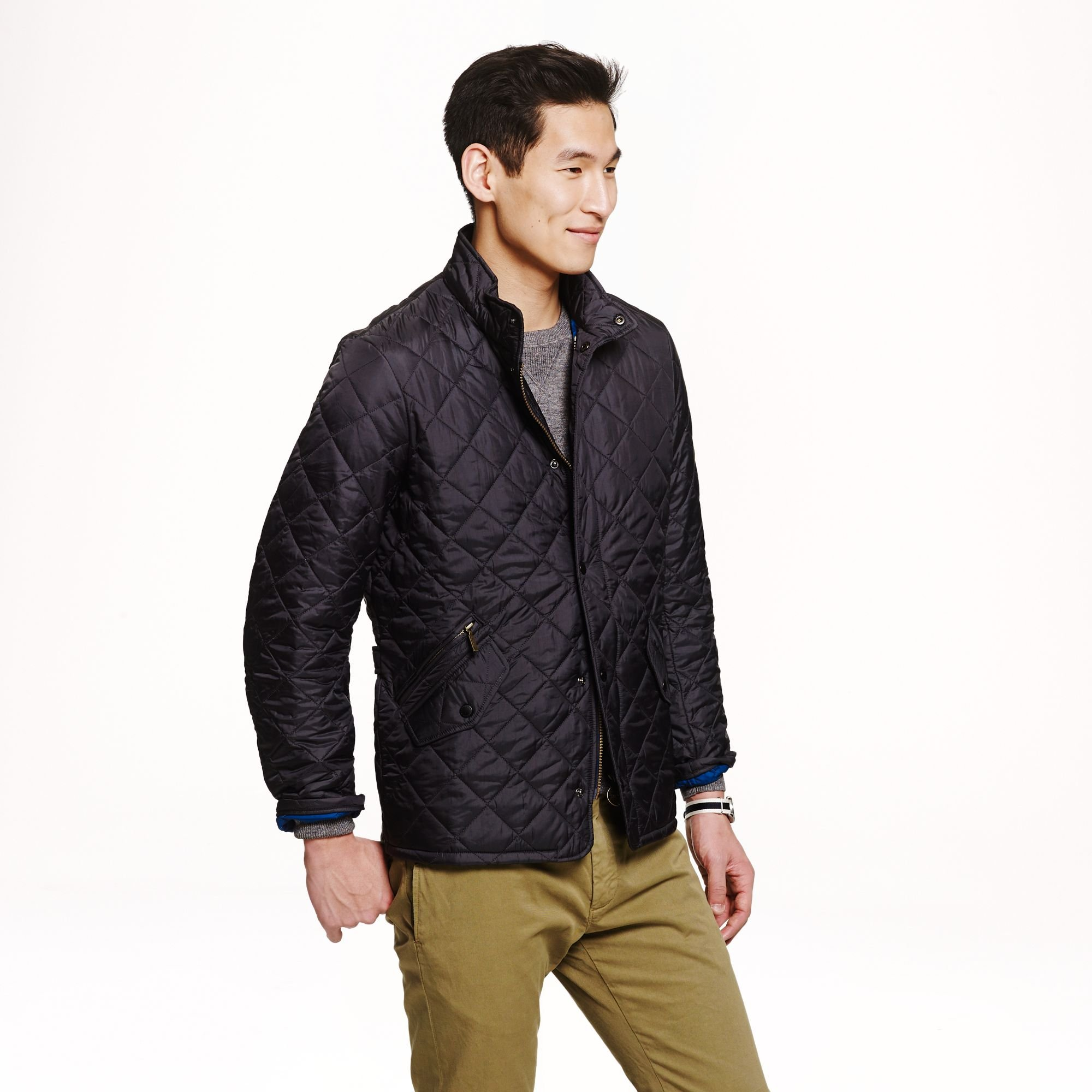 Black Friday Barbour Men S Flyweight Chelsea Quilted