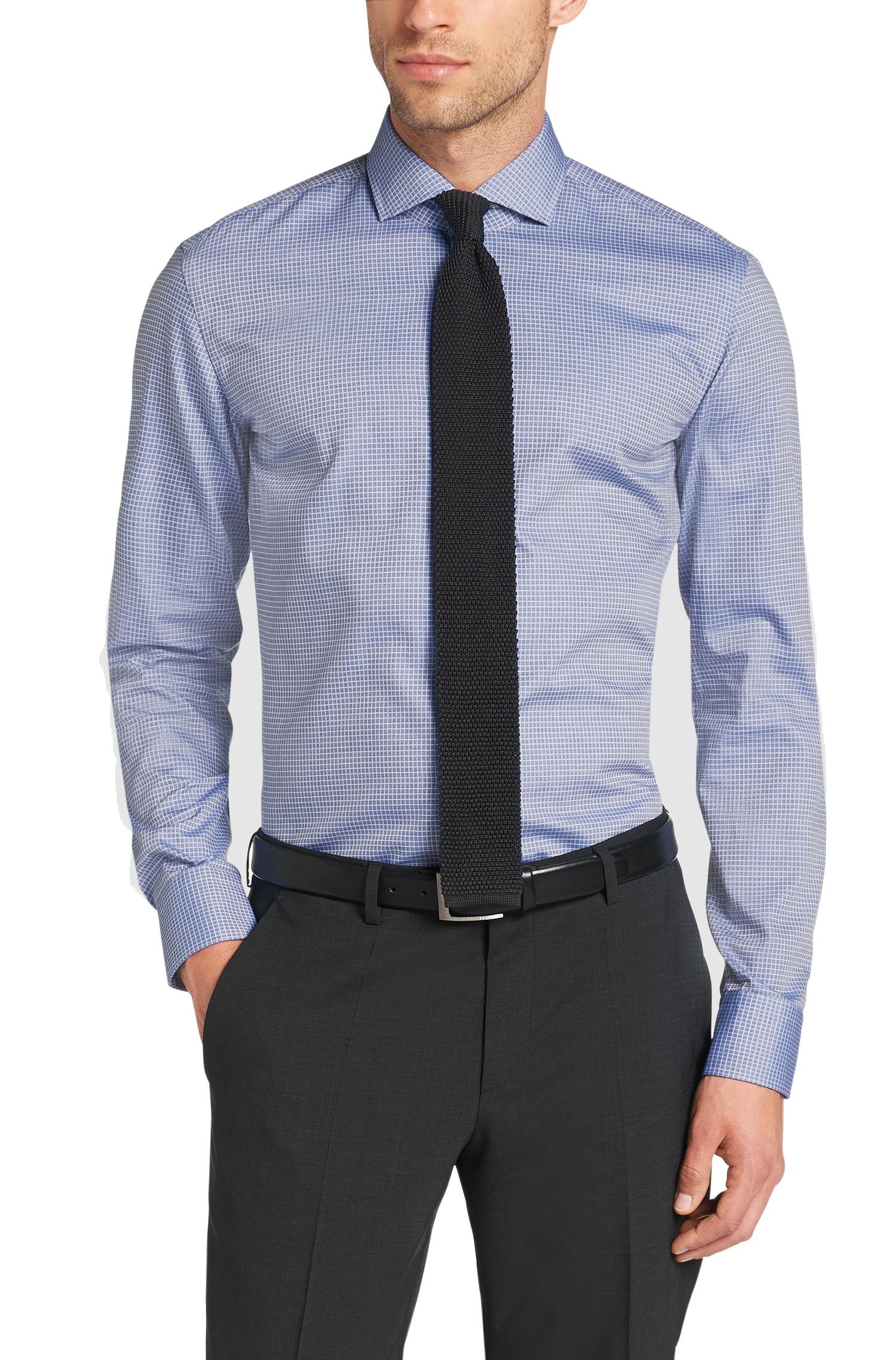 Lyst Boss 39 Jason 39 Slim Fit Spread Collar Italian