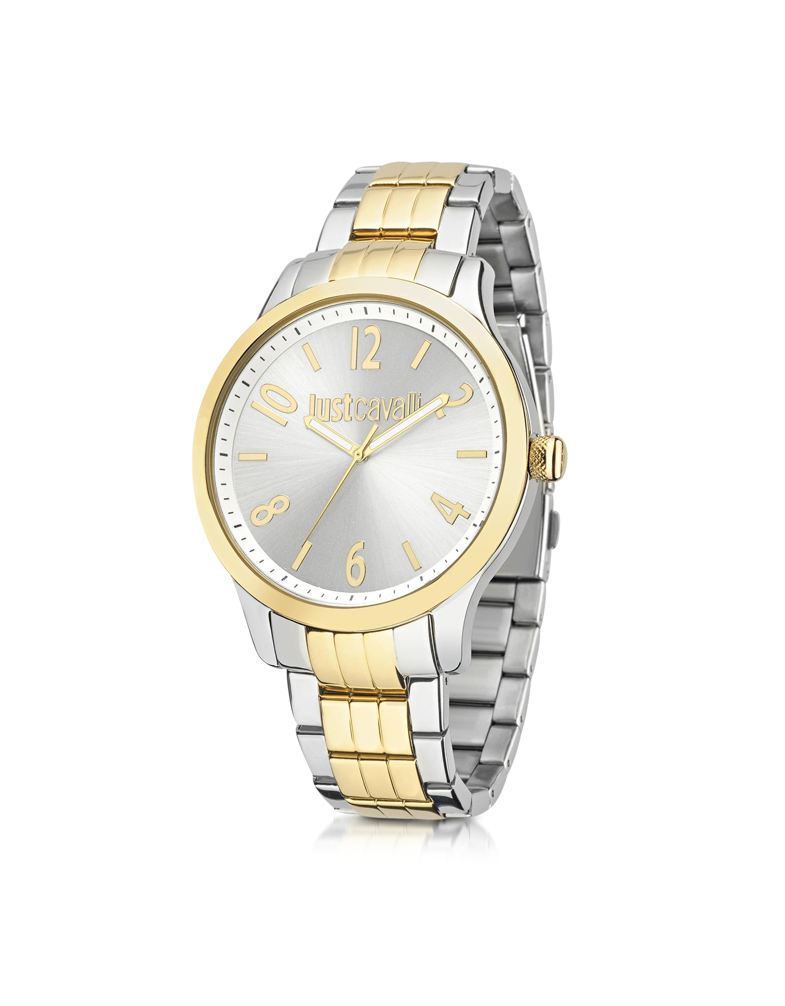 just cavalli jc two tone stainless steel s