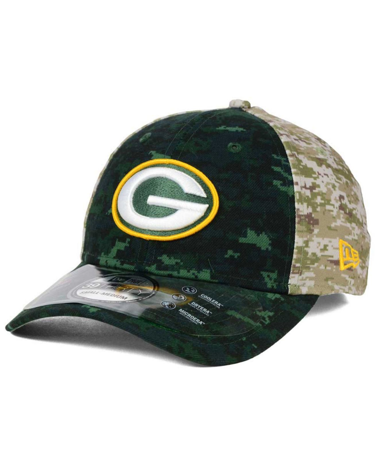 Lyst - KTZ Green Bay Packers Salute To Service 39thirty Cap in Green ... 20211a75cea