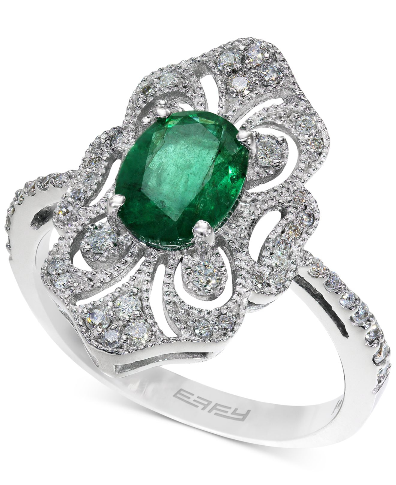 Effy Collection Brasilica By Effy Emerald 1 1 8 Ct T W