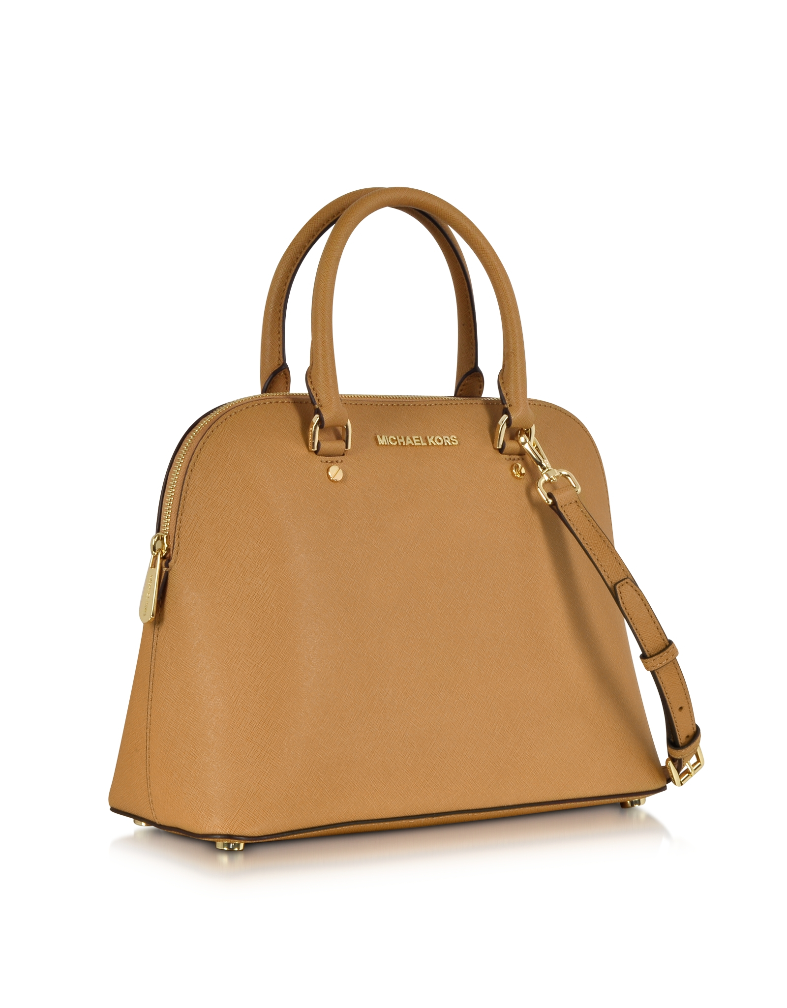 Michael Kors Cindy Laukku : Michael kors cindy large peanut saffiano leather satchel