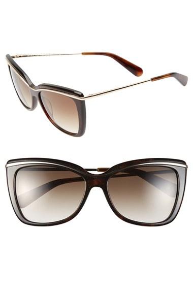 Lyst - Marc Jacobs 56mm Cat Eye Sunglasses