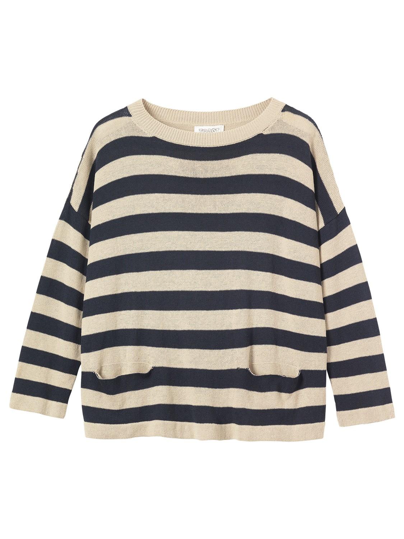 3f22fbe256e Toast - Multicolor Stripe Cotton linen Jumper - Lyst