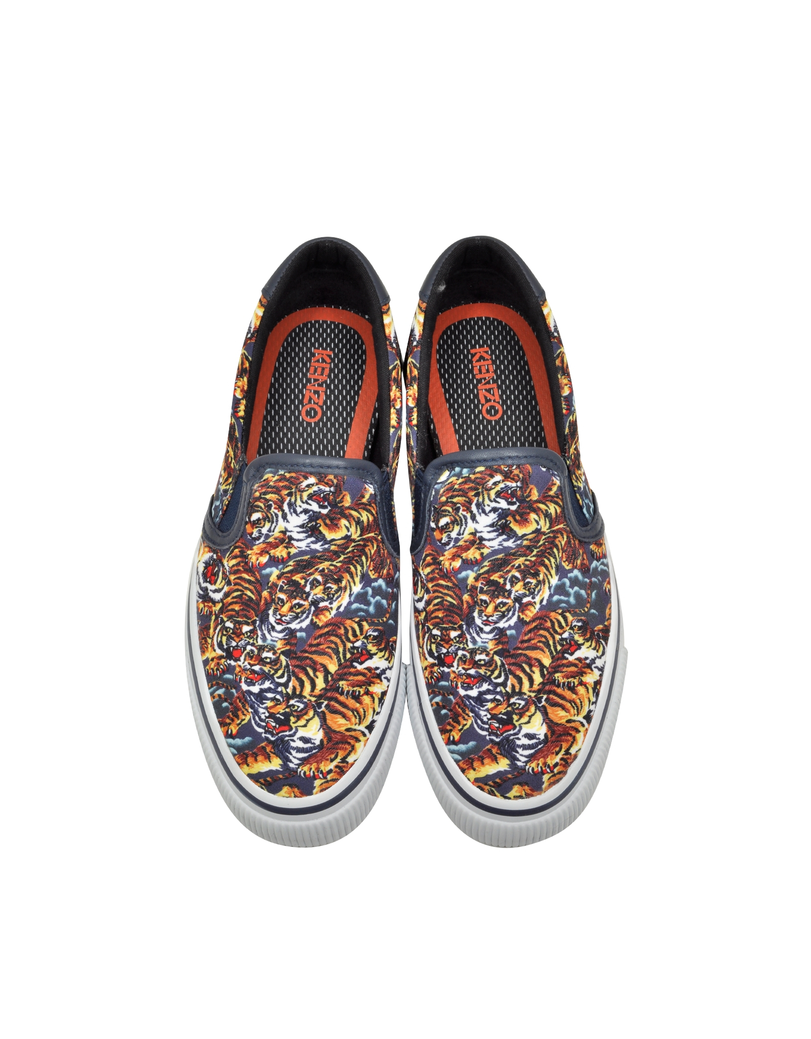 explore online Kenzo tiger embroidered slip-on sneakers hot sale for sale best cheap price wko8C