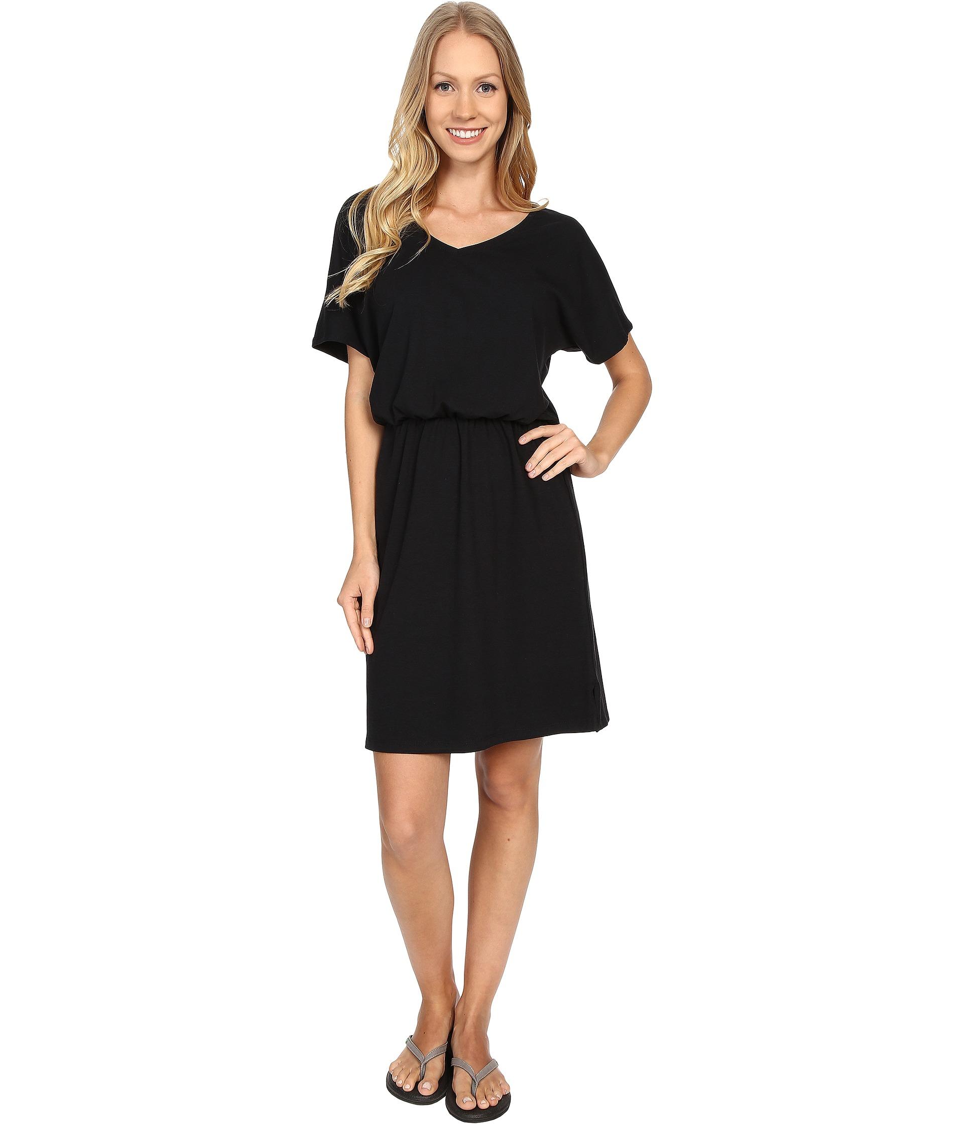 Fig clothing Fer Dress in Black