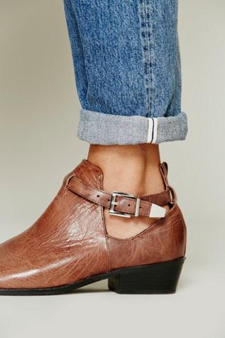 Sol Sana Jardin Ankle Boot In Brown Lyst