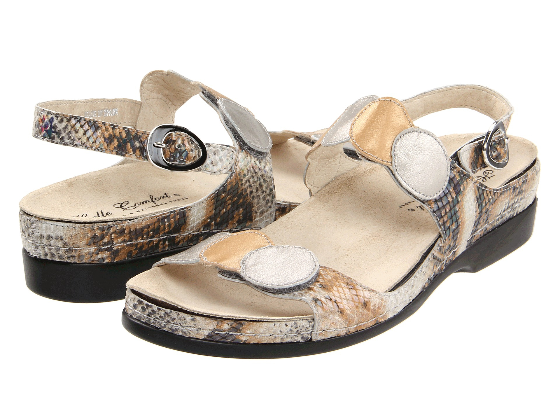 helle shoes in lyst gold normal product bronze metallic comforter comfort multi tula gallery